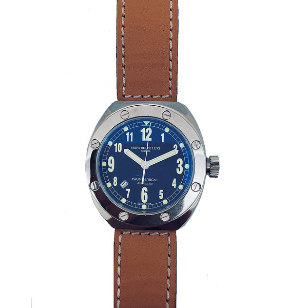 435975a5307c Reloj hombre movimiento suizo - marrón MONTRES DE LUXE 09TH6002