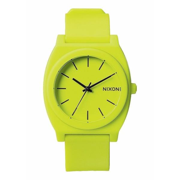 Reloj analógico unisex caucho - amarillo