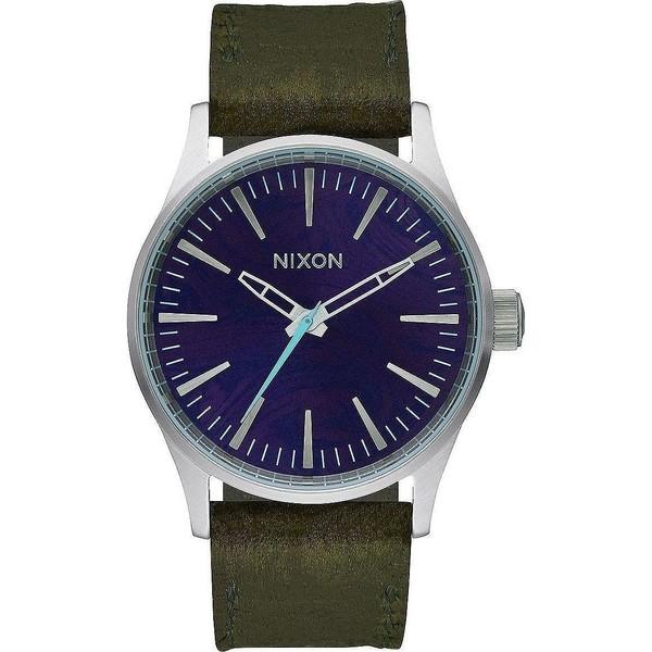 Reloj analógico piel mujer - verde