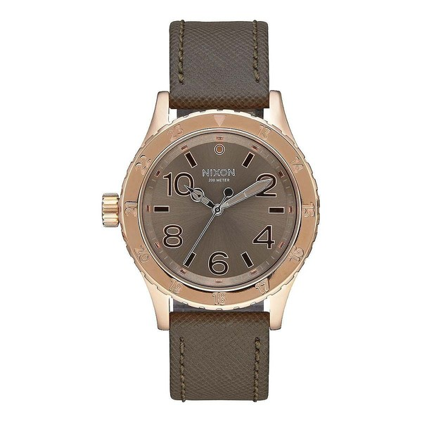 NIXON A467-2214-00 RELOJ UNISEX, 38-20 Leather