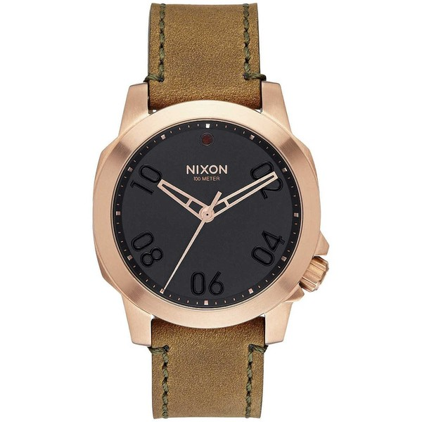 NIXON A471-1890-00 RELOJ UNISEX, Ranger 40 Leather