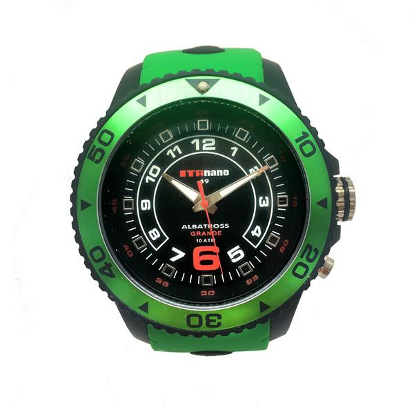 Reloj hombre analógico caucho- verde