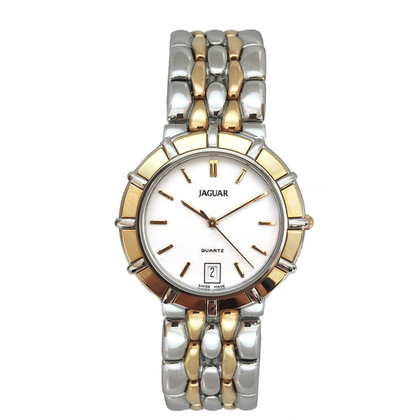 Reloj analógico unisex acero - plata