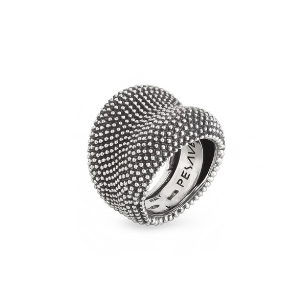 Anillo ajustable plata mujer t.15/16/17 - gris