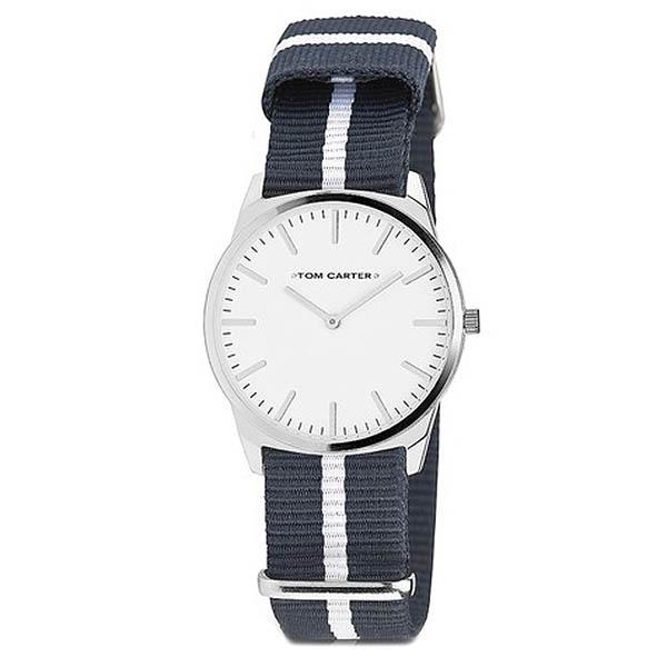 Reloj analógico hombre nylon - gris