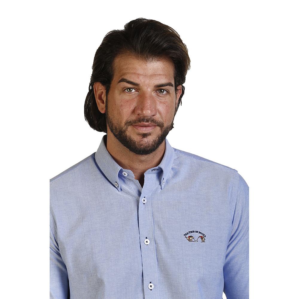 PACK 2 Camisas hombre - blanca/azul