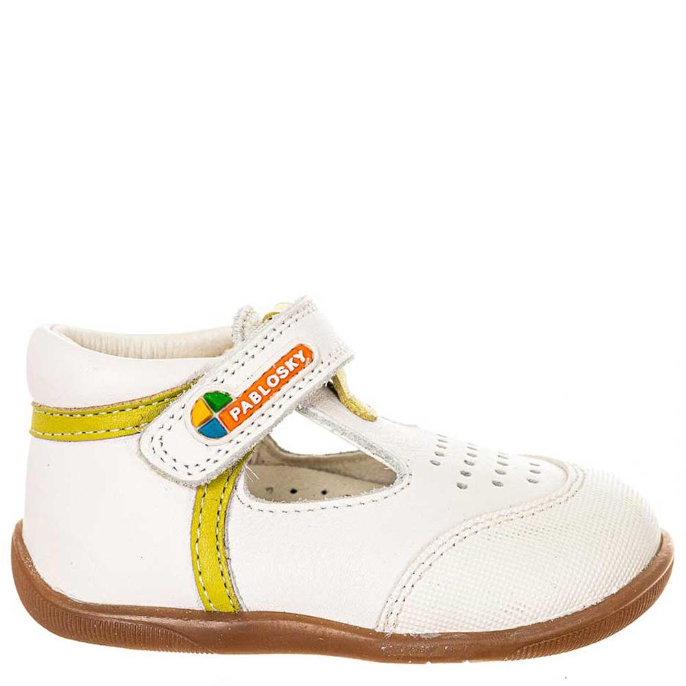 Zapato piel bebé - blanco