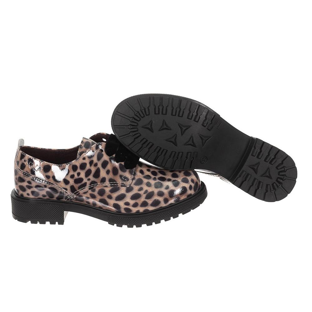 Zapatos de piel - tostado