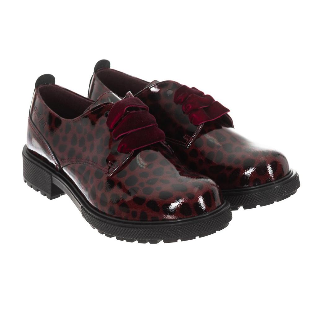 Zapatos de piel - burdeos