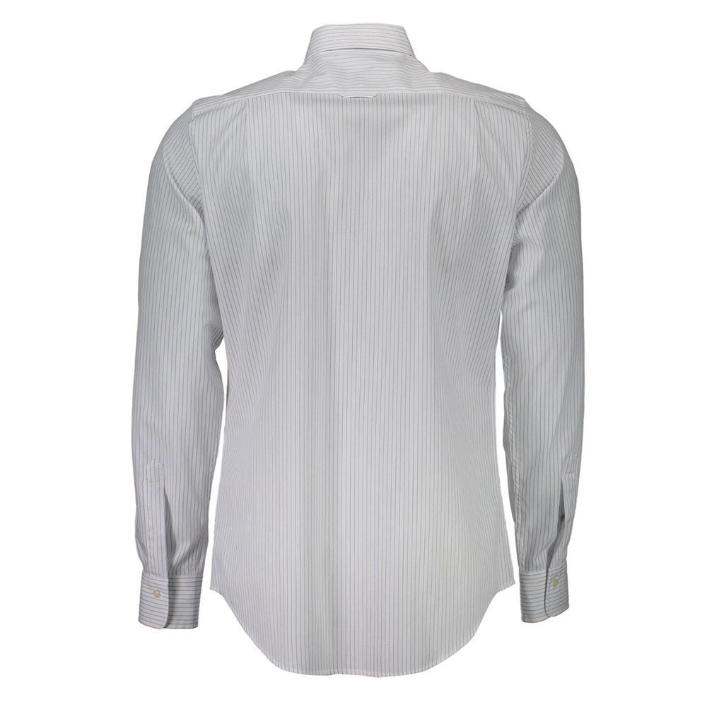 Camisa a rayas hombre - blanco