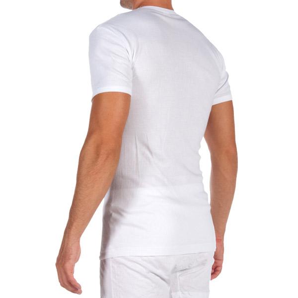 PACK 3 camisetas m/corta - blanco