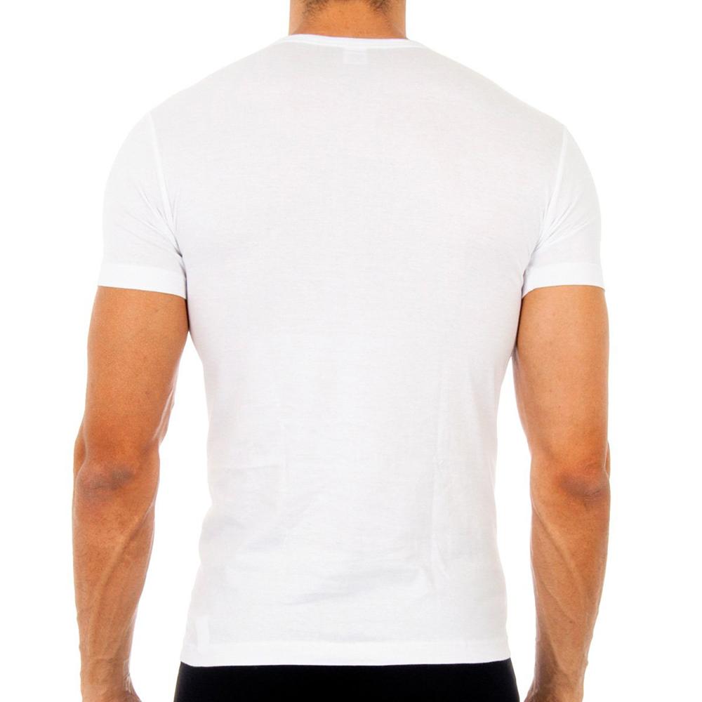 PACK 6 camisetas manga corta - blanco