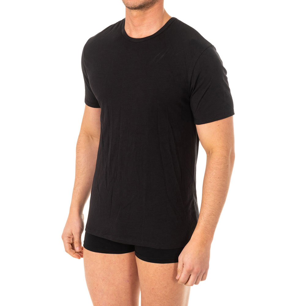 Camiseta x/temp m/corta - negro