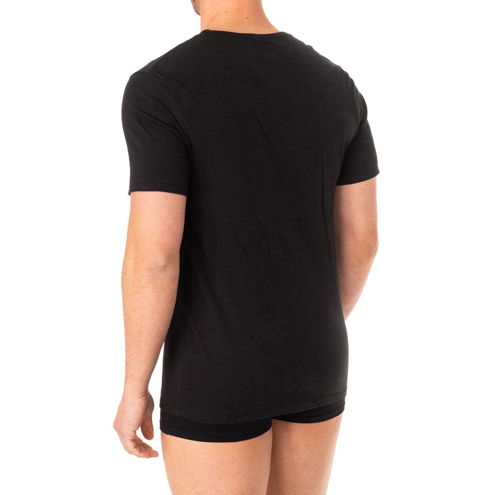 Camiseta interior m/corta hombre - negro