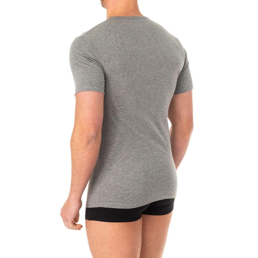 Camiseta interior m/corta hombre - gris