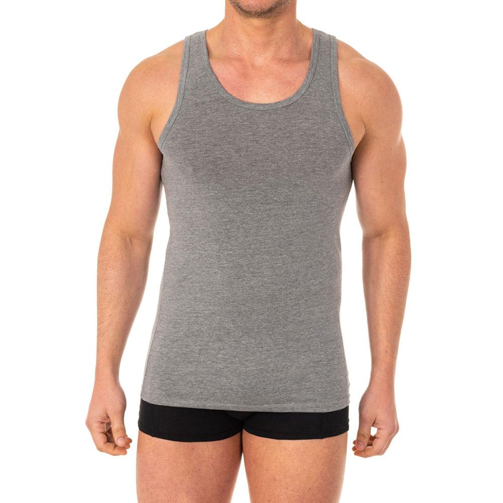 Camiseta x/temp de tirantes - gris
