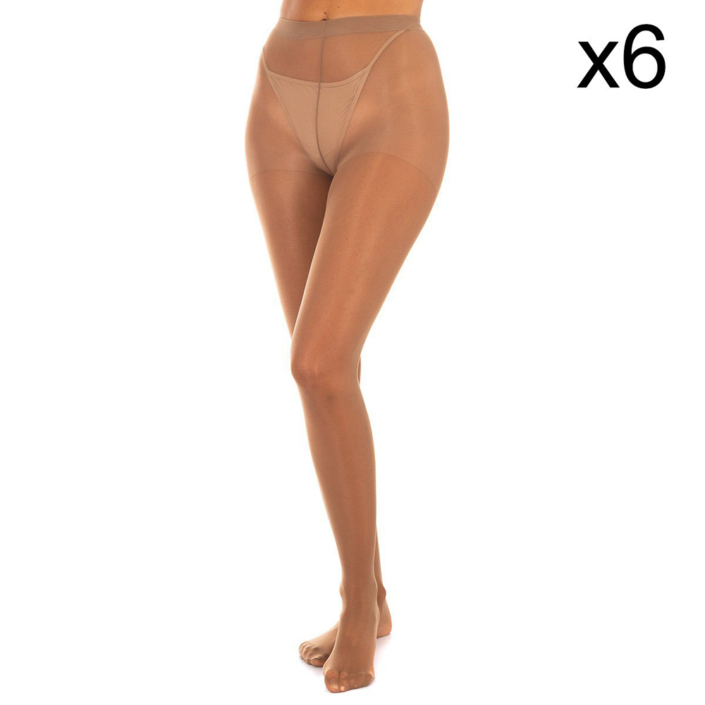 PACK 6ud Panties mujer - caramelo