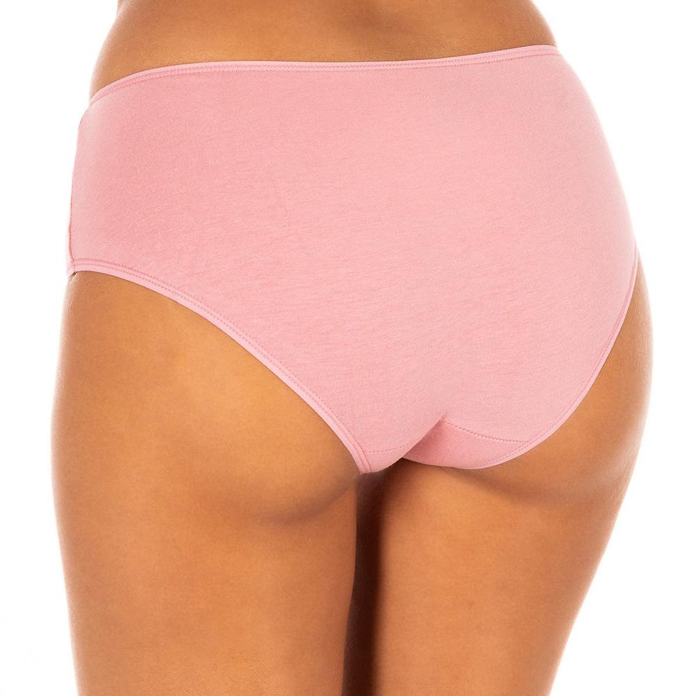 PACK 2 culottes mujer - rosa/granate