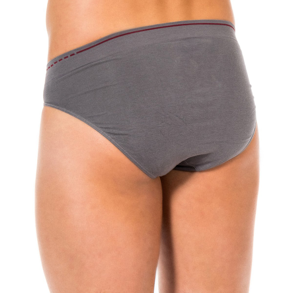 PACK 2 slips hombre - granate/gris