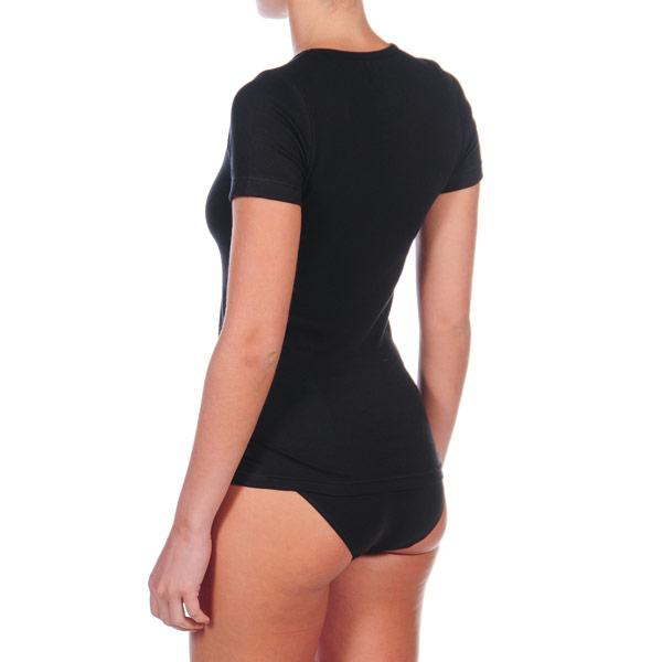 Pack 3 Camisetas m/corta mujer - negro