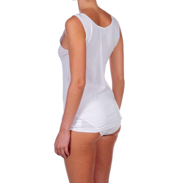 Pack 3 Camisetas s/mangas mujer - blanco