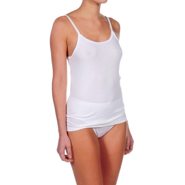 Pack 3 Camisetas tirantes mujer - blanco