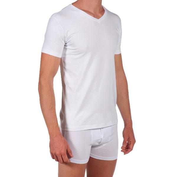 Pack 3 Camisetas m/corta transpirable - blanco