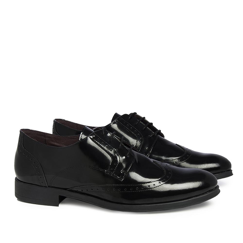 Zapato piel hombre - negro