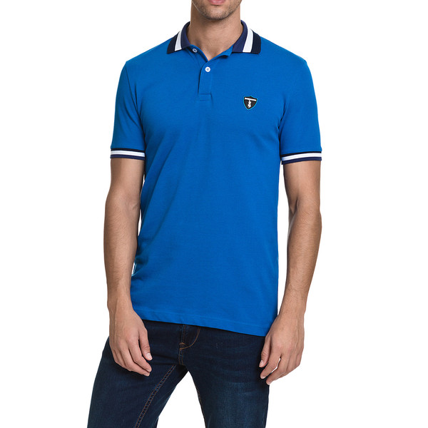Polo Ibiza slim fit - azul