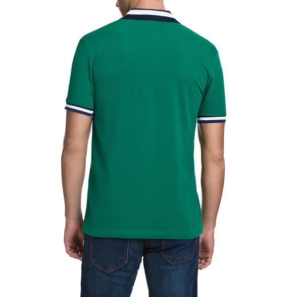 Polo m/corta slim fit hombre - verde