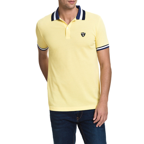 Polo Ibiza slim fit - amarillo