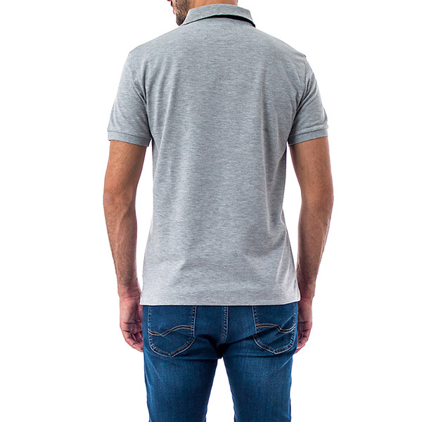 Polo Estepona slim fit - gris