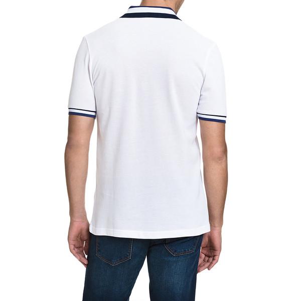 Polo m/corta slim fit hombre - blanco