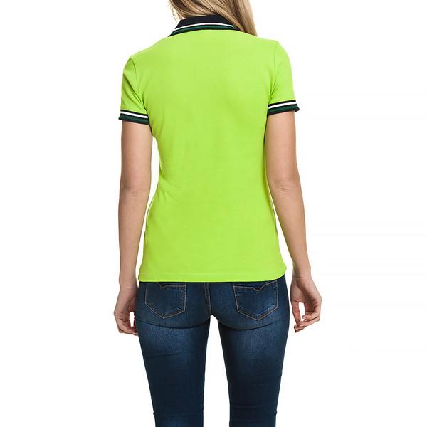 Polo m/corta slim fit mujer - verde