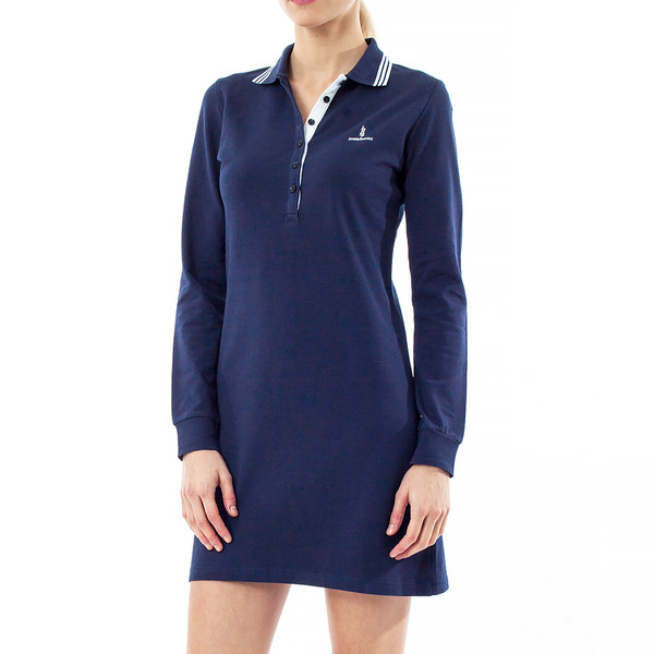 Vestido slim fit mujer - marino
