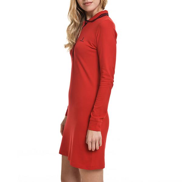 Vestido slim fit mujer - rojo