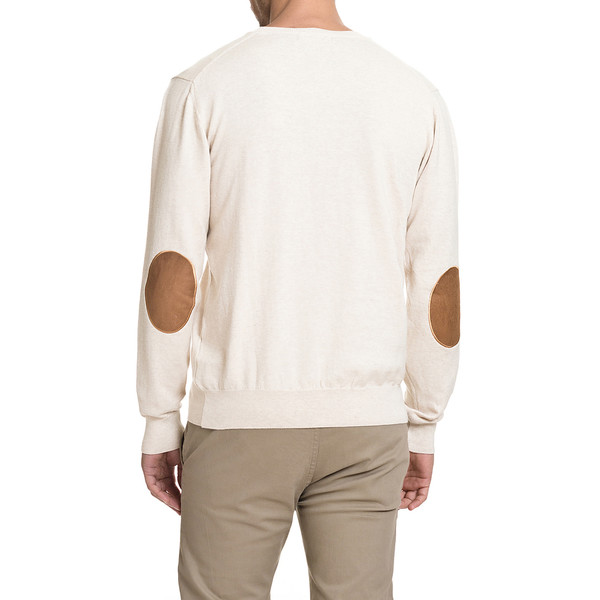Jersey slim fit hombre - beige