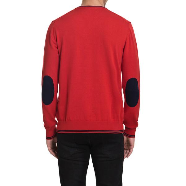 Jersey slim fit hombre - rojo