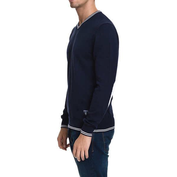 Jersey slim fit hombre - marino