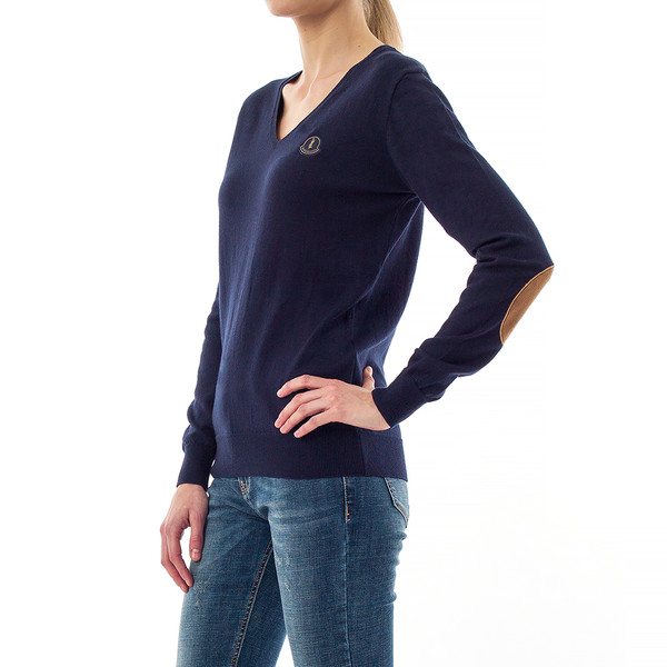 Jersey slim fit mujer - marino