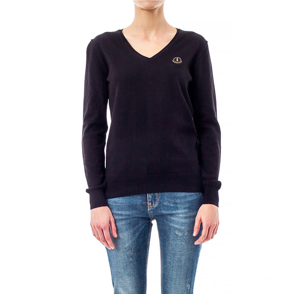 Jersey slim fit mujer - negro