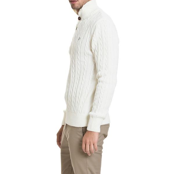 Jersey Santander slim fit - blanco