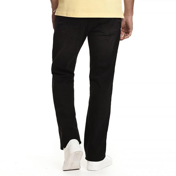Pantalón jean slim fit hombre - negro