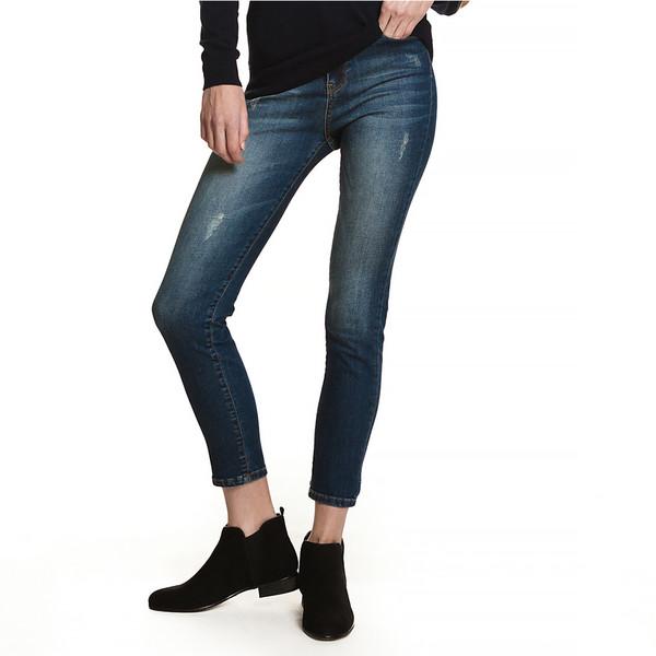 Pantalones jeans Lucía slim fit - azul