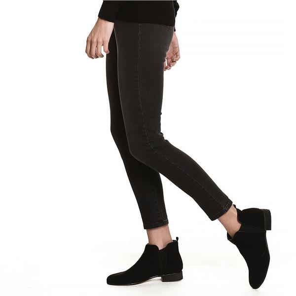 Pantalones jeans Susana slim fit - gris/negro