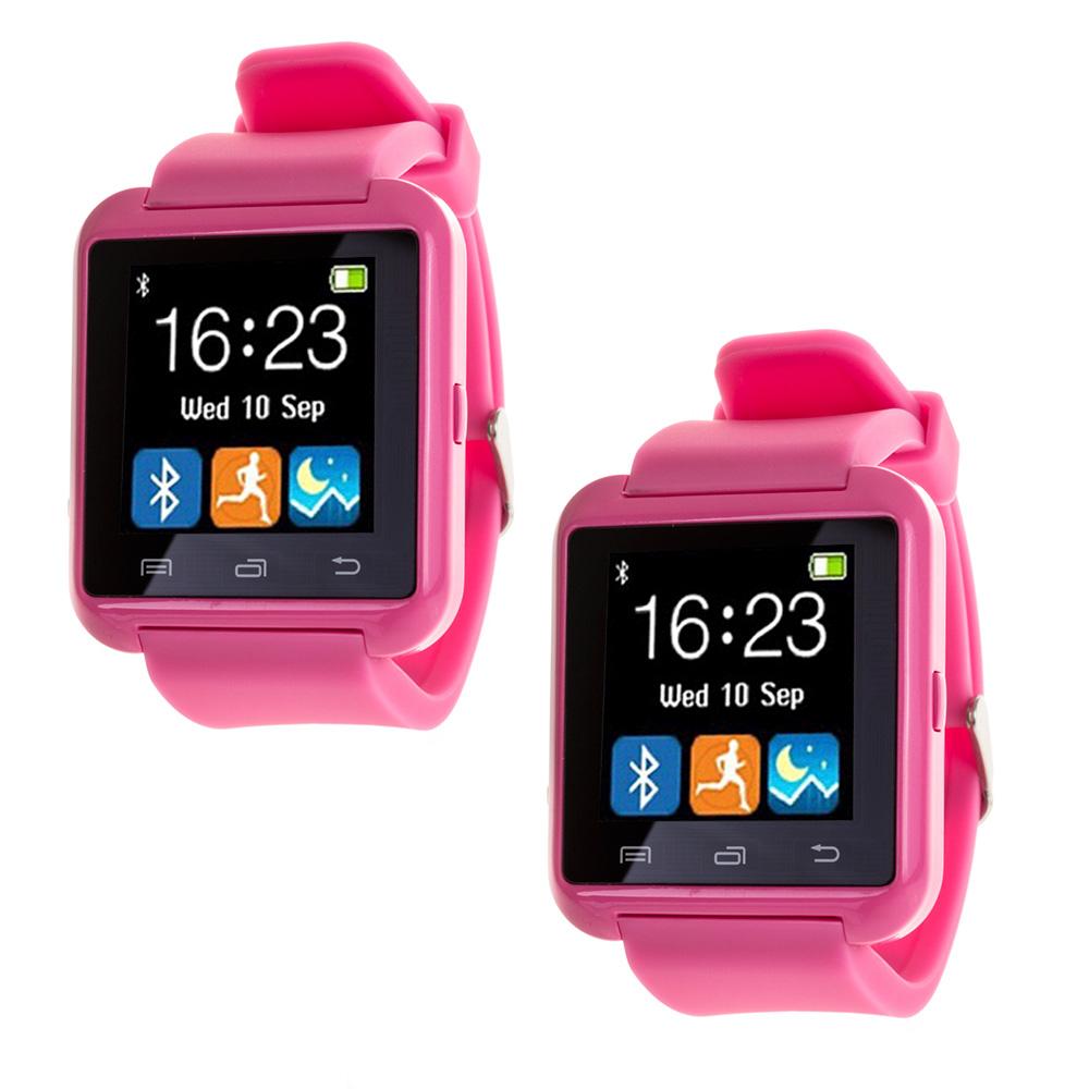 Smartwatch multifunción bluetooth - rosa