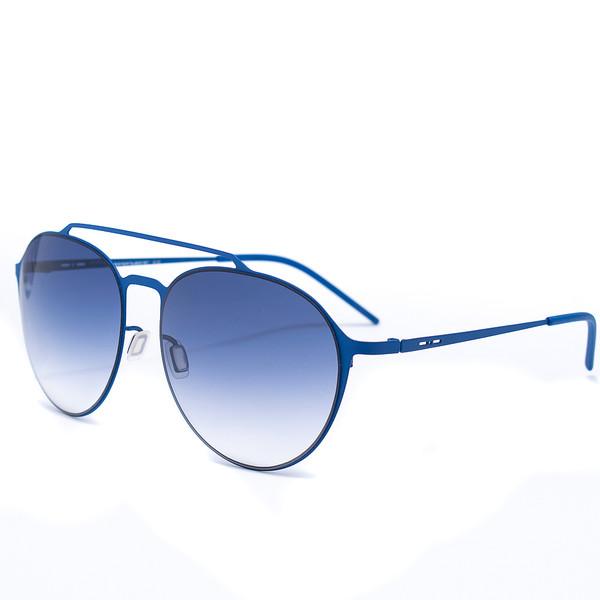 Gafas de sol metal mujer - azul