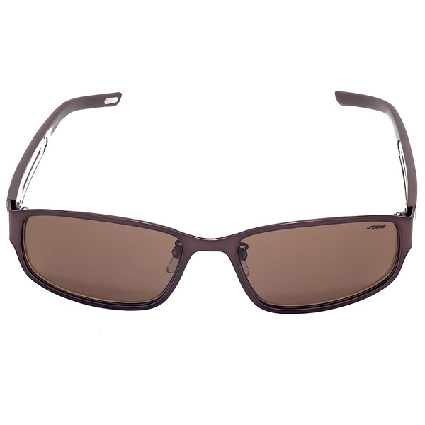 Gafas de sol unisex cal.56 acetato - rojo