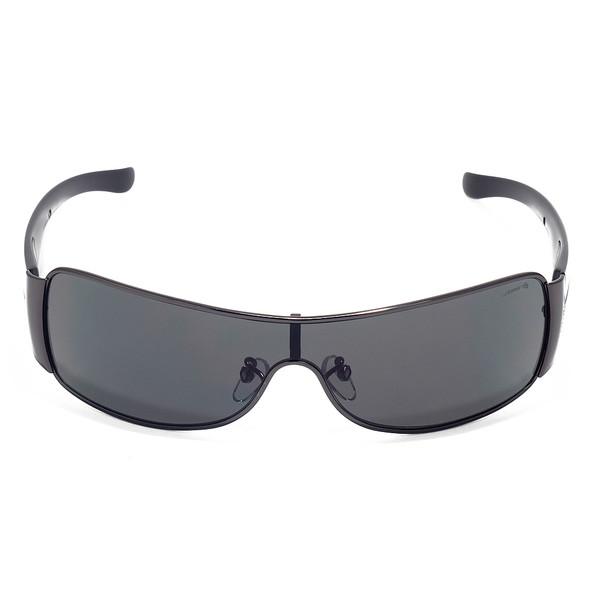 Gafas de sol unisex cal.99 metal/acetato - negro