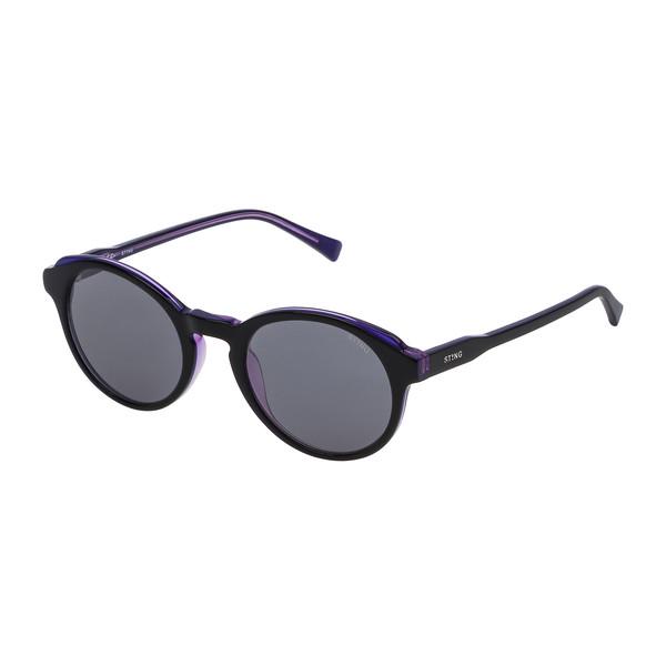 Gafas de sol mujer - negro brillo/violeta